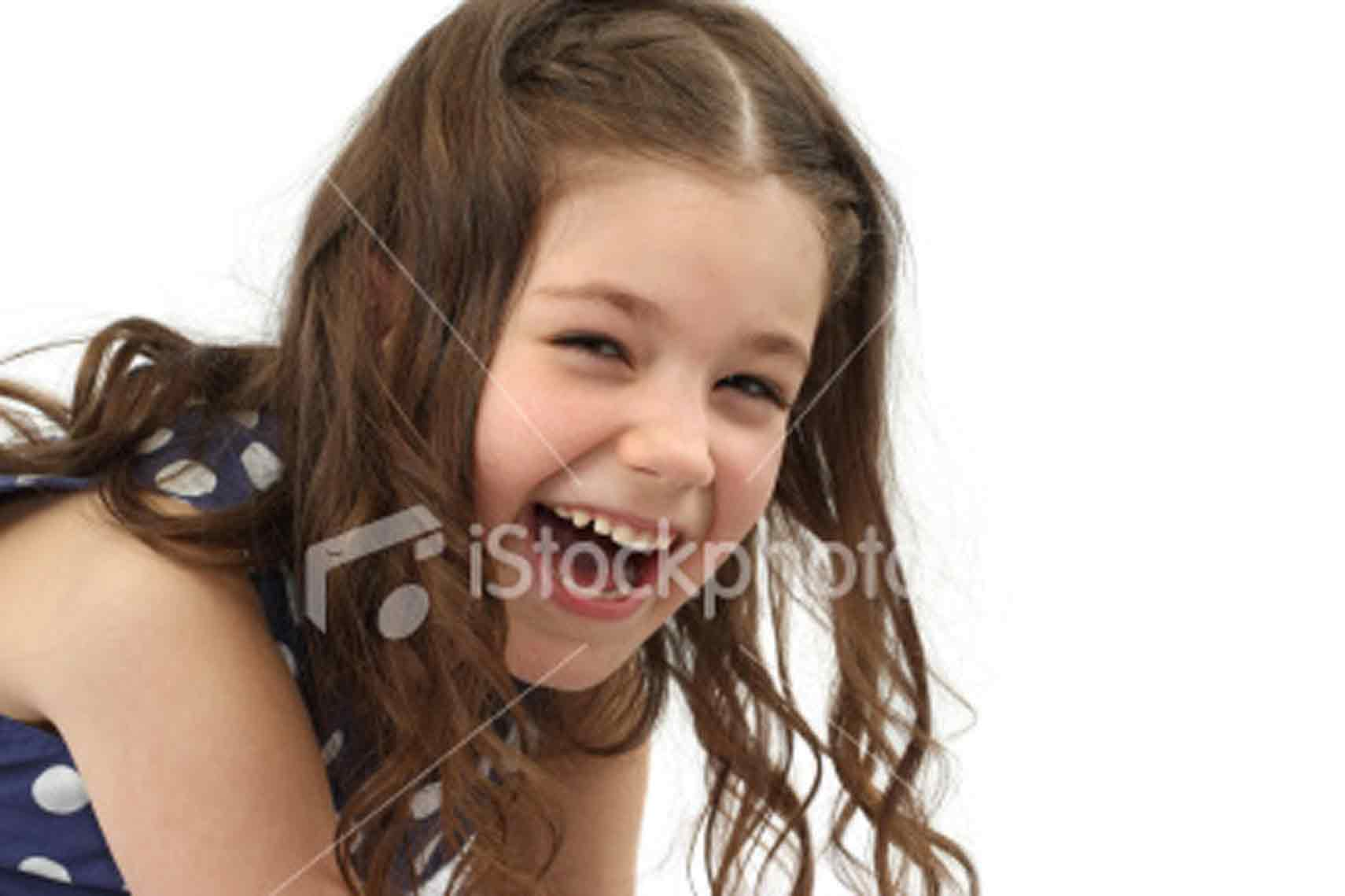 Laughing Cute Little Girl