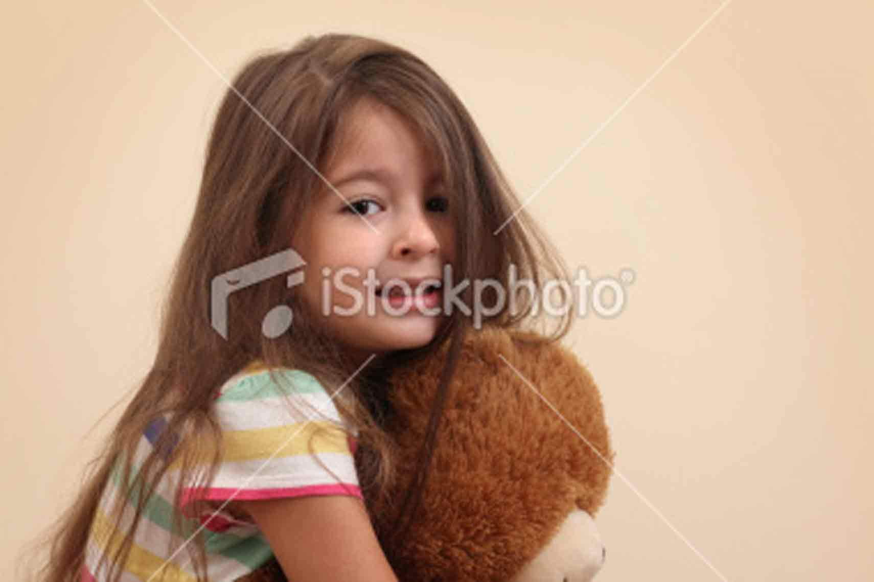 Alone The Little Girl Nest Door Ist Laughing Cute
