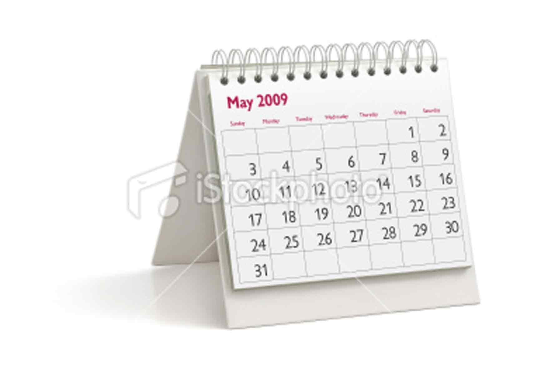 Desktop Calendar May 2009 Mgkaya